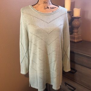 Chico's sweater Size 3